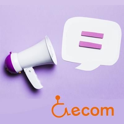Imatge de l'acompanyament en el pla d'igualtat a les entitats d'Ecom